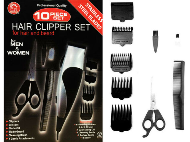 10 in 1 PROFESSIONAL HAIR CLIPPER SET