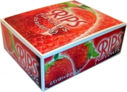Rips 24 Rolls Strawberry Flavoured Slim Width Paper