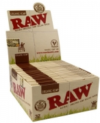 RAW King Size Slim Organic Hemp Rolling Paper 50 (1)