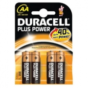 Duracell Plus AA / MN1500 Batteries ( B4 x 20pk)