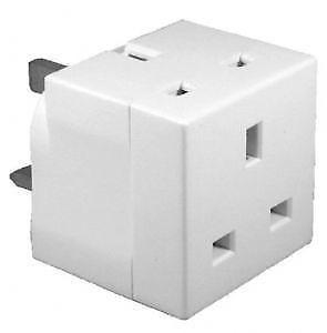 2 Way 13Amp Adaptor (10 in a box).