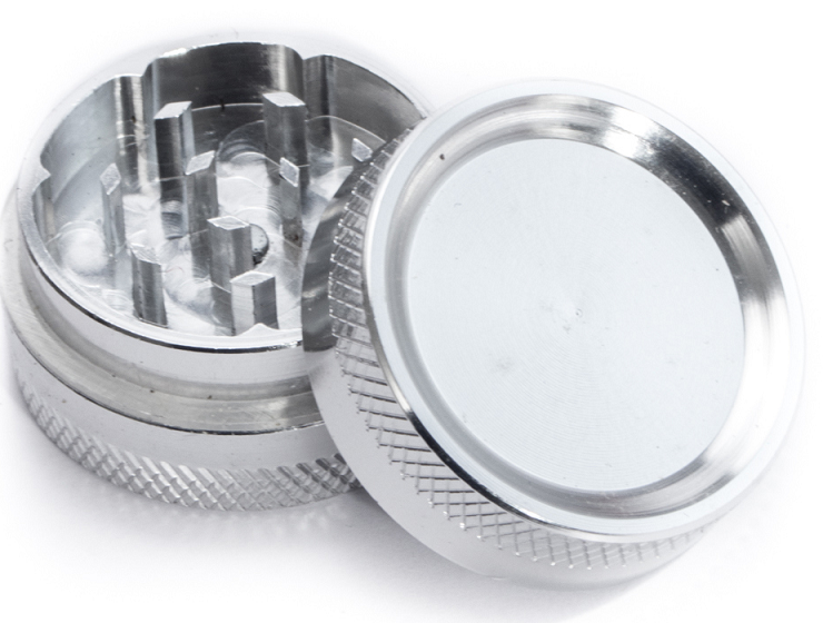 2 Part Clear Top Metal Grinder 50mm x 1