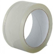 "2"" Clear Tape 66 mtrs (Pack of 6)."