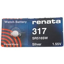 Renata 317 Watch Batteries (10)