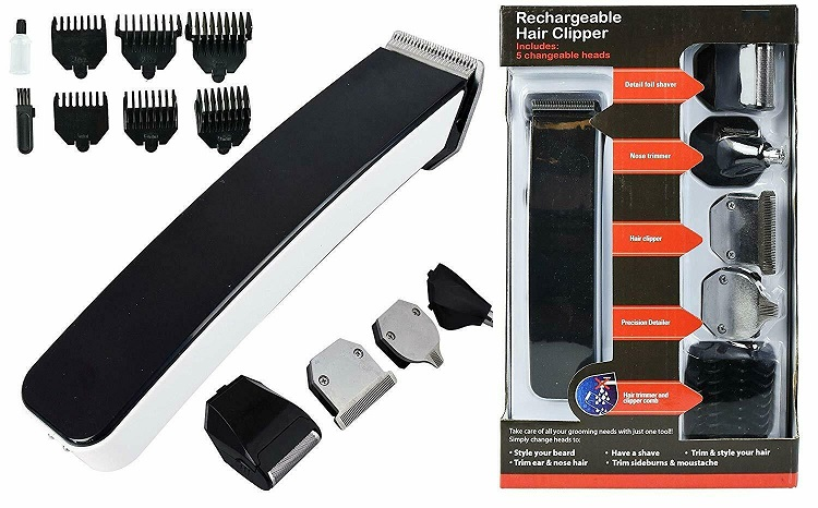 Deluxe 5 in 1 Men's Grooming Kit x1