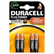 Duracell Plus AAA / MN2400 Batteries ( B4 x10pk)