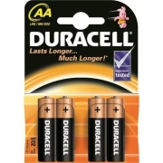 Duracell Basic AA / MN1500 Batteries (B4 x20pk)