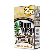 Double Platinum Blunt Wrap Ivory (French Vanilla) 25 Packs X 2