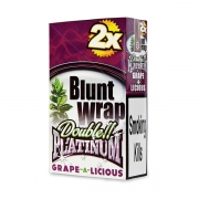 Double Platinum Blunt Wrap Indigo (Grape-A-Licious)25 Packs X 2
