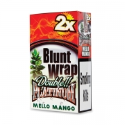 Double Platinum Blunt Wrap Yellow (Mello Mango) 25 Packs X 2