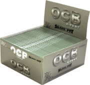 OCB X - PERT Fit Slim Silver Rolling Papers(50)