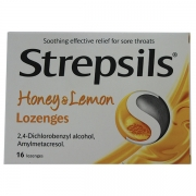 Strepsils Honey & Lemon Lozenges (6 Pk X 16Tab)