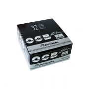 OCB SLIM ROLLING PAPER & TIPS X 32 BOOKLETS