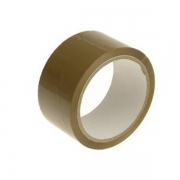 2'' Brown Tape 66Mtr (6 Pack of 6).