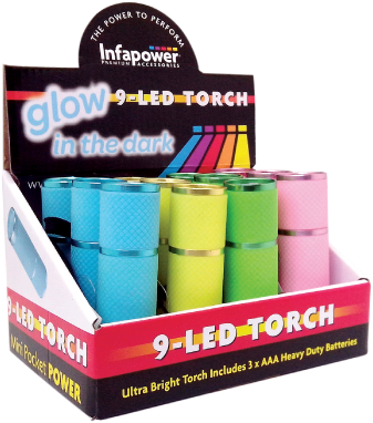 9 Led Torch (Glow in the Dark) (12)