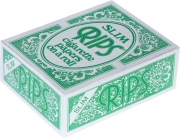 Rips 24 Rolls Green Flavoured Slim Width Paper