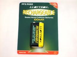 Lloytron NI-CD Rechargeable 9V / 100mahB1 (1)