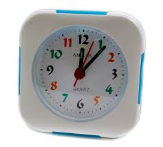 Amplus Alarm Clock With Blue LED PT203