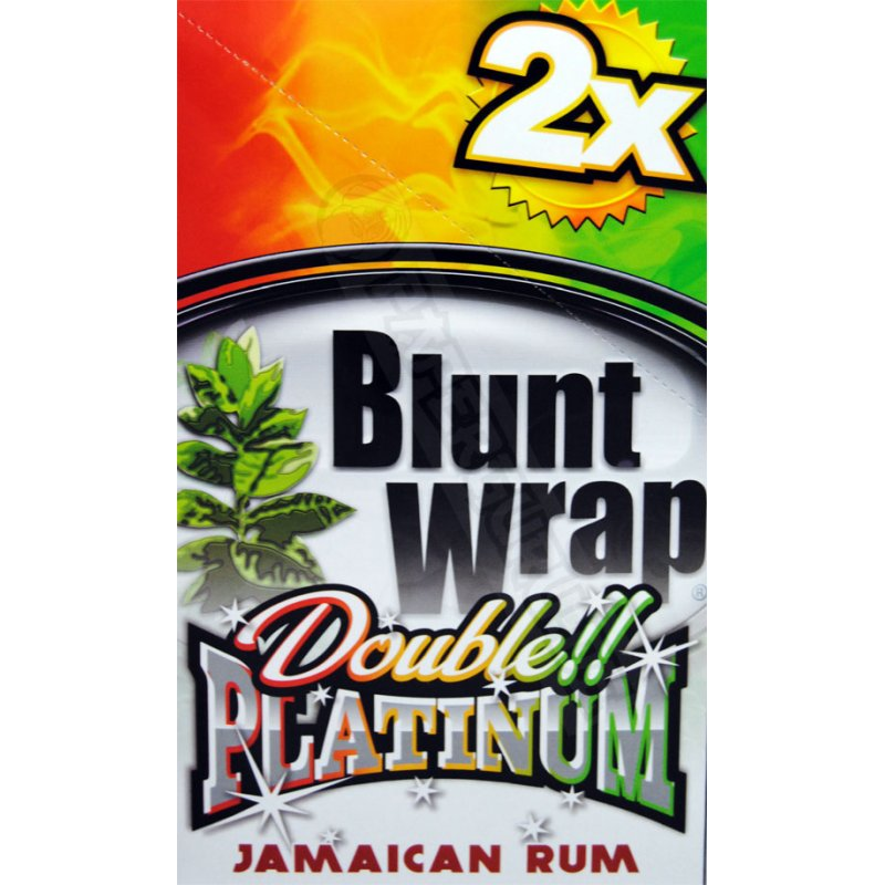 Double Wrap Jamaican Rum (25 Packs X 2)
