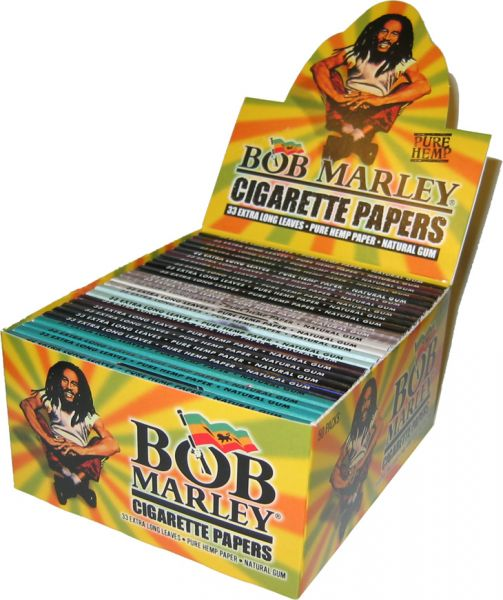 Bob Marley King Size Hemp Cigarette Papers (50)