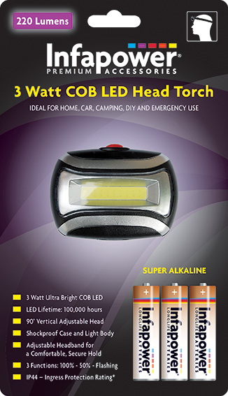 3 Watt CREE LED`S Head Torch (1) F037