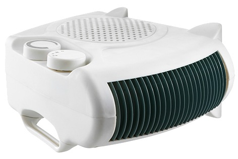 Fan Heater Flat/Up Right 2000w