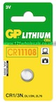 GP Batteries CR1/3N-C1 Lithium Coin Cell (Card Of One)