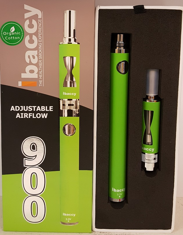 IBACCY E CIG 900 Mah ADJUSTABLE VOLTAGE & AIR FLOW