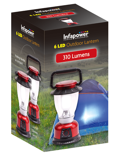 Infapower Outdoor Lantern 6 Led F042 (1)