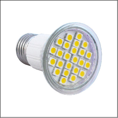 LED JDR E27 SMD Cool White 24LED 5W=40W (1)