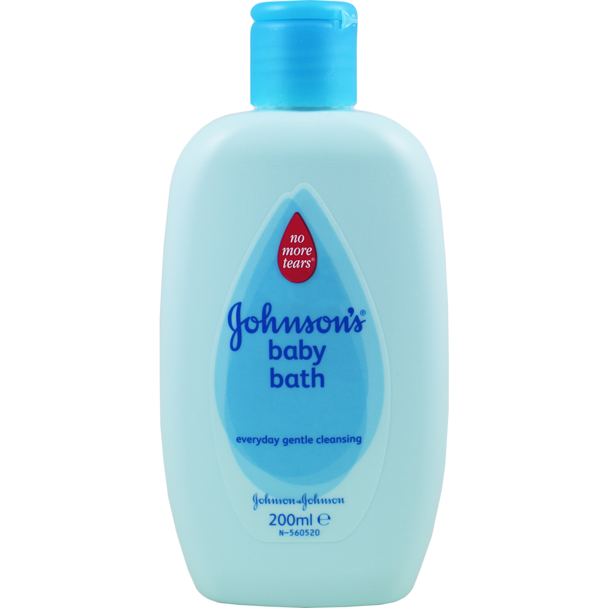 Johnson`s Baby Bath 200ml Pk of 6