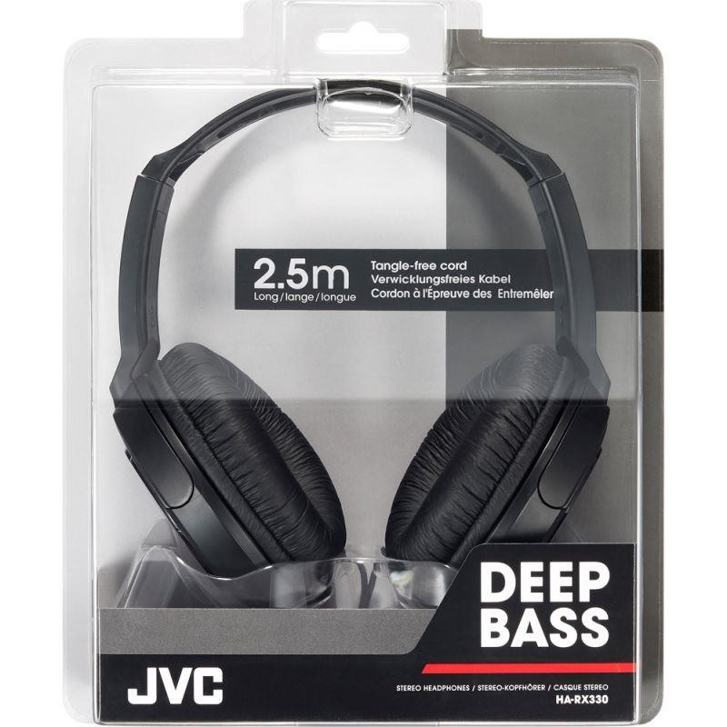 JVC Headphones With Extra Bass HA-RX340 (1)