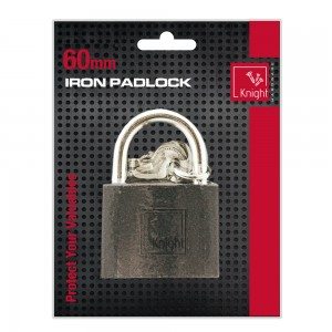 Cast Iron Pad-Lock 60mm (1)