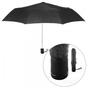 Lady's Mini Black Umbrella (12 in a Box)