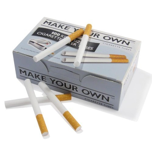 MAKE YOUR OWN Cigarette Tubes (5 Pks of 100 in a box).