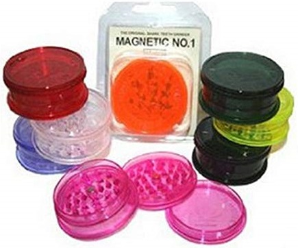 2 Part Clear Magnetic Herb Grinder No-1 (12)