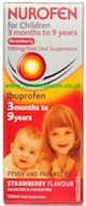 Nurofen For Children 3Month to 9Years - Strawberry (6)
