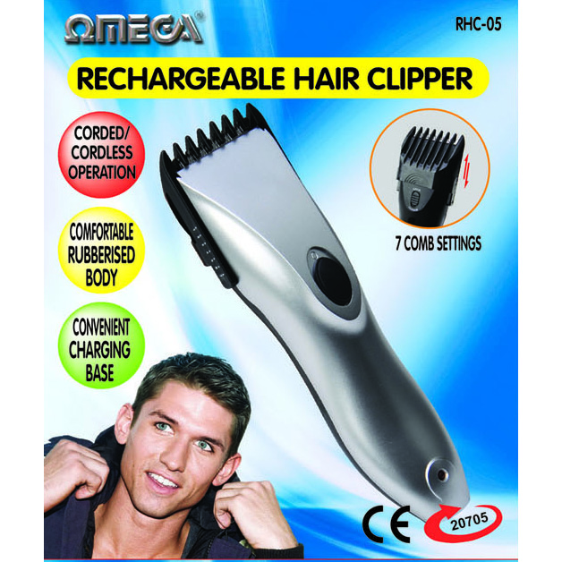 Omega Recharging Hair Clipper 20705 (1)