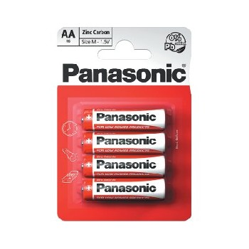 Panasonic AA / R6 Special Batteries B4 (12pk of 4)