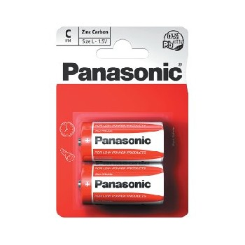 Panasonic C / R14R Special Batteries B2 (12 pk of 2)