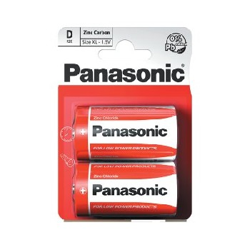 Panasonic D / R20R Special Batteries B2 (12 pk of 2)
