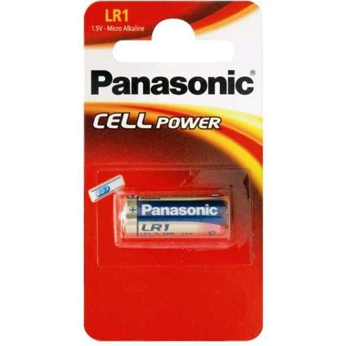 Panasonic LR1 (9100) Alkaline Batteries 1.5V B1 (10)
