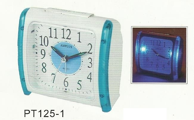 Amplus Alarm Clock With Blue Light PT125 (1)