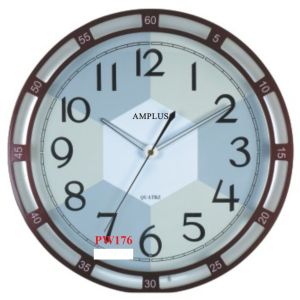 Amplus Wall Clock Golw in Dark PW176 (1)