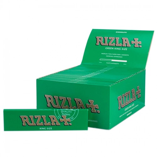 Rizla King Green Rolling Papers (50)