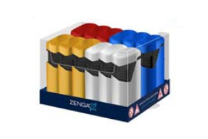 ZENGA TWIN FLAME JET METALLIC LIGHTER 12 (1)