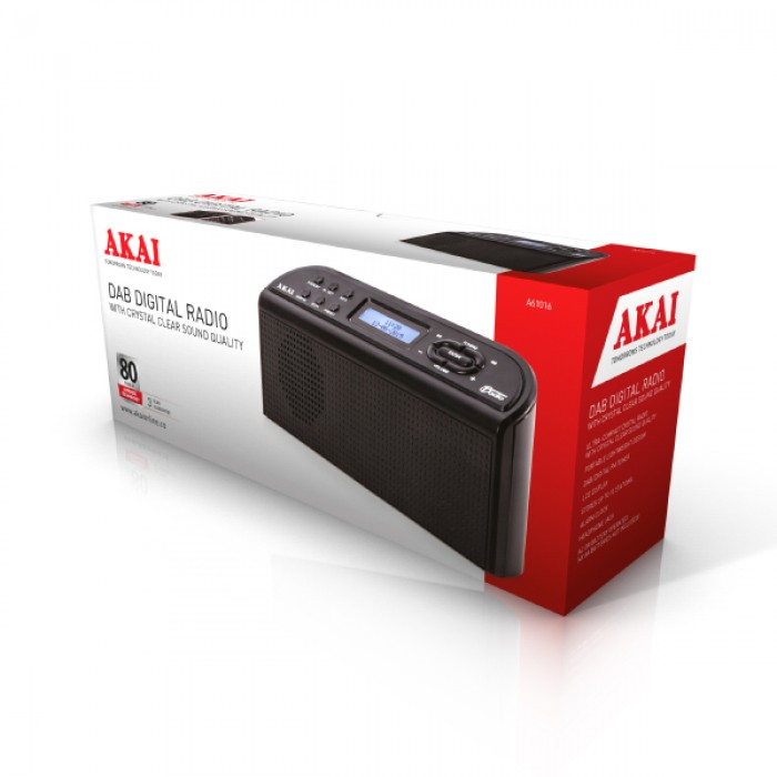 Akai DAB and FM Portable Digital Radio A61016