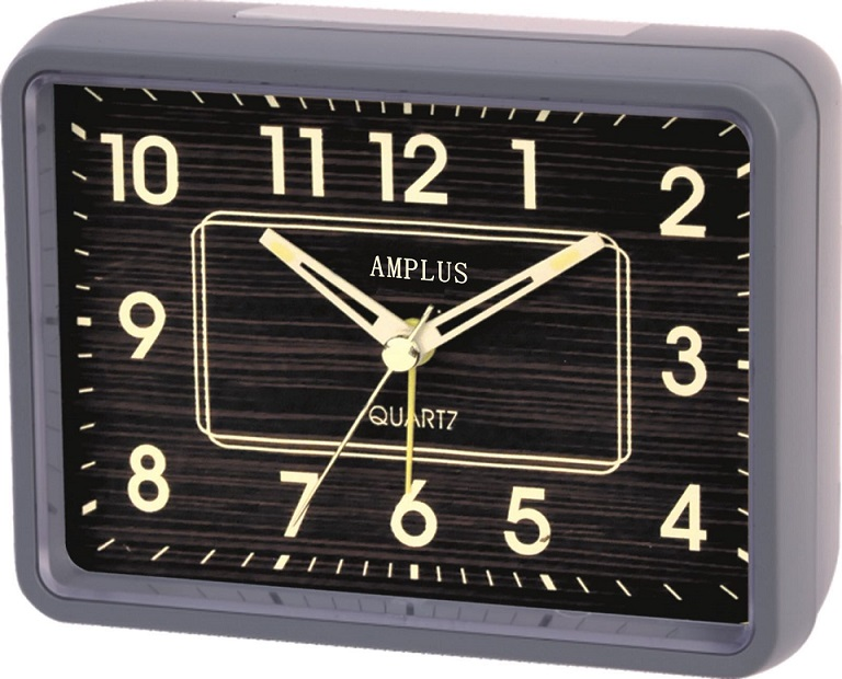 Amplus Alarm Clock Brown Dail With Bell Sound PD231(1)