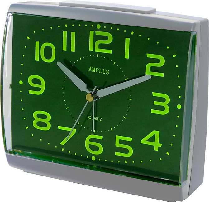 Amplus Alarm Clock With Snooze/Light PT252(1)