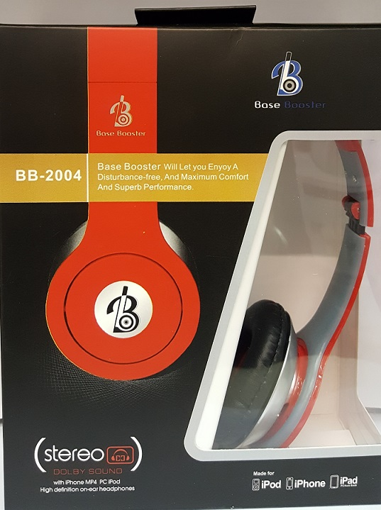 BASE BOOSTER HEADPHONES BB2004 HIGH QUALITY HEADPHONES
